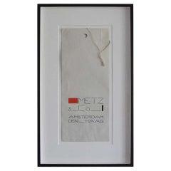 Framed Bag by Bart van der Leck for Metz & Co