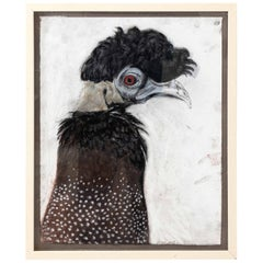 Framed Bird Illustration by Marianne Stikas