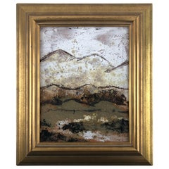 Framed Ceramic Tile Scenic Landscape Art