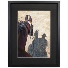 Framed Charles Linder Photograph