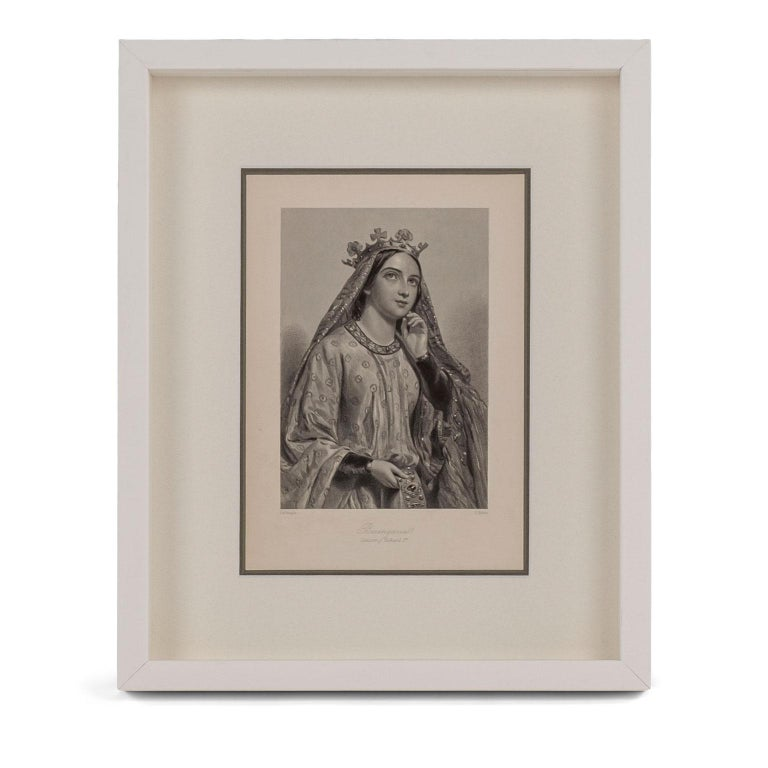 Framed Engravings of English Queens 3