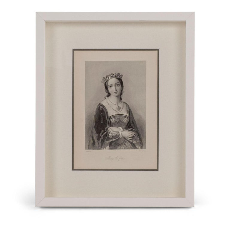 Framed Engravings of English Queens 5