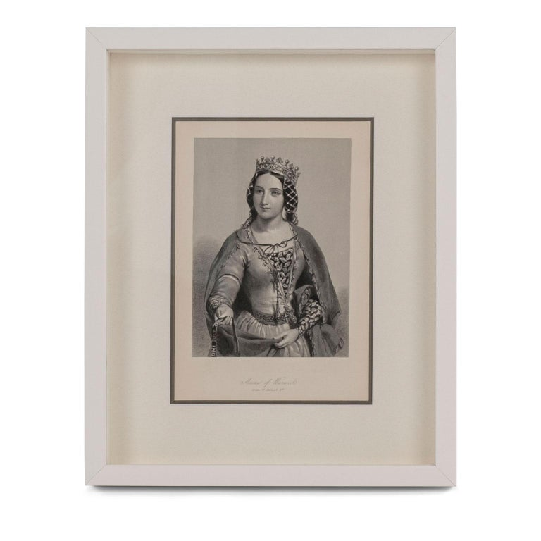Framed Engravings of English Queens 6