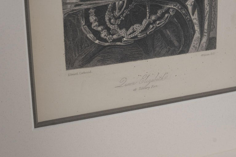 Framed Engravings of English Queens 9