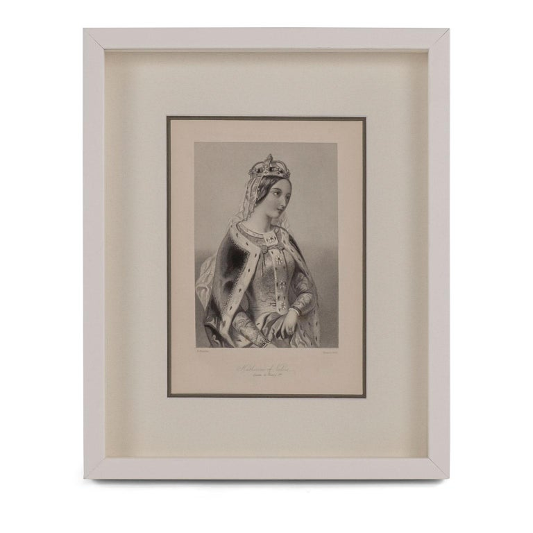 American Framed Engravings of English Queens