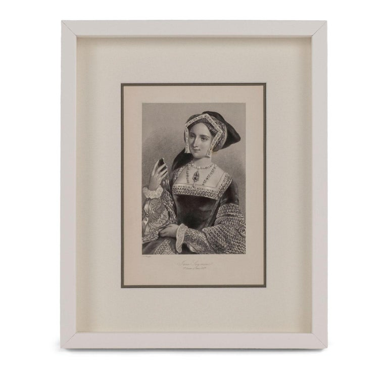 Framed Engravings of English Queens 1