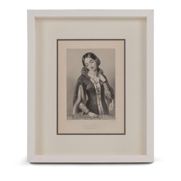 Framed Engravings of English Queens 2