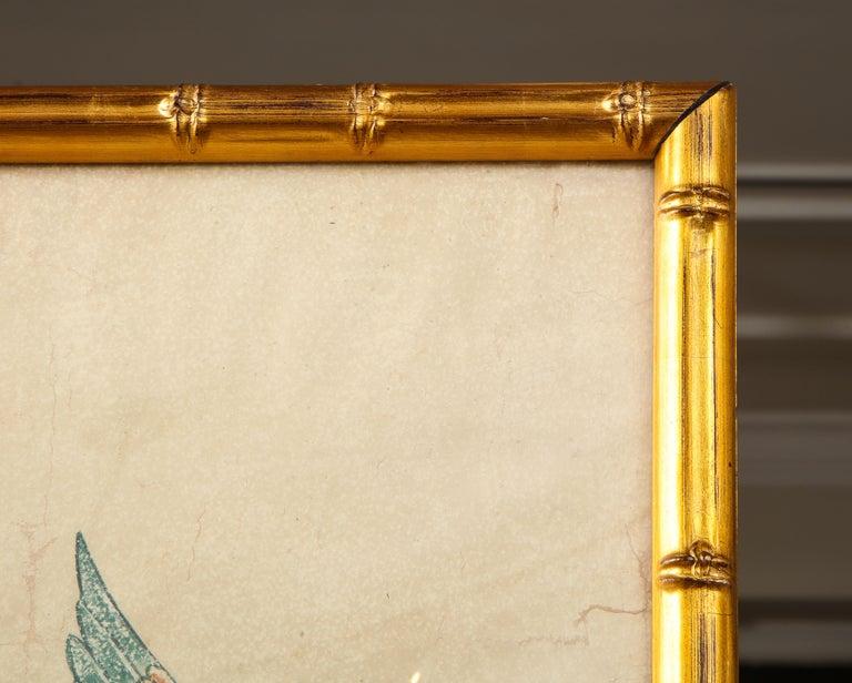 Framed Gracie Wallpaper Panel For Sale 3