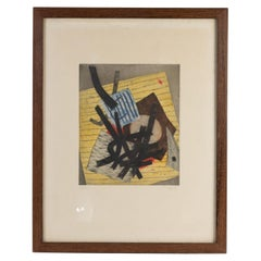 Framed Lithograph by Goetz, Signed and Numbered, 20th Century