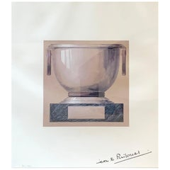 Framed Lithograph Jean E. Puiforcat