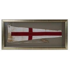 Framed Maritime Flag of Number 8