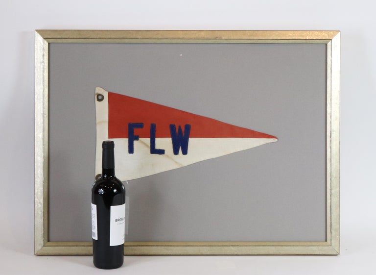Framed Nautical Burgee