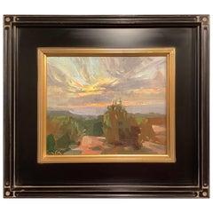 """Framed Oil on Canvas """"Chelly Burst"""" New Mexico Desert Scene, Jeff Markowsky"""