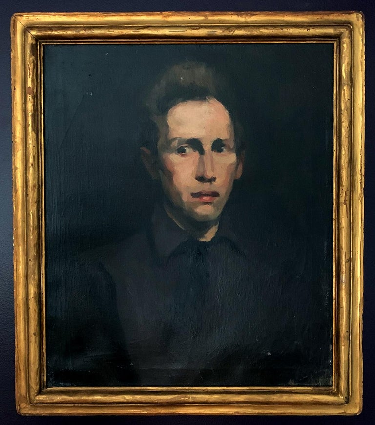 Framed Oil Painting by George Wesley Bellows For Sale 8