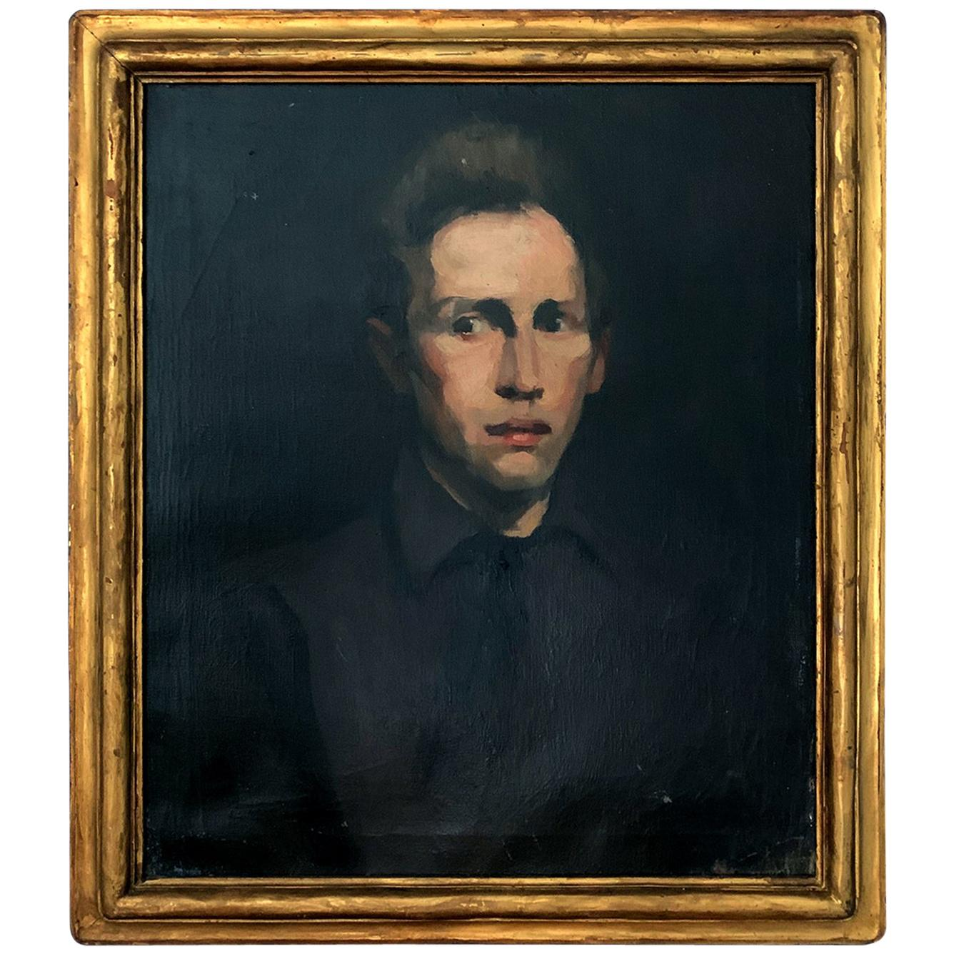 Framed Oil Painting by George Wesley Bellows