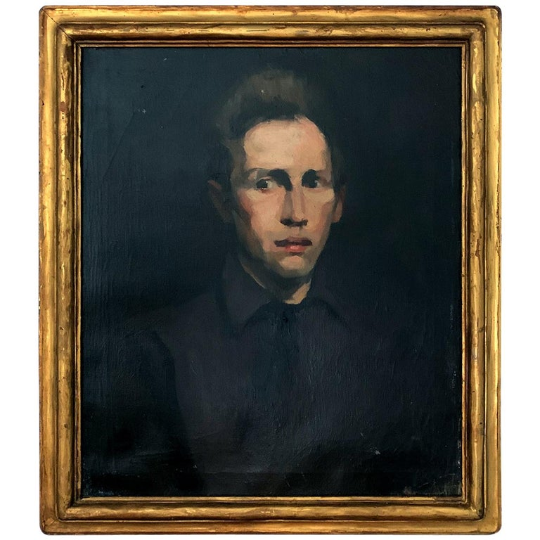 Framed Oil Painting by George Wesley Bellows For Sale
