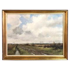 Framed Oil Painting on Canvas by Conrad van Reken