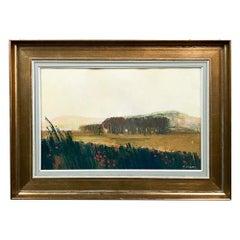 Framed Oil Painting on Canvas by M. Cockx, circa Midcentury