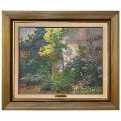 Framed Oil Painting on Canvas by Raymond Verstraeten, 1874-1947