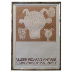Framed Original Lithograph-Pablo Picasso