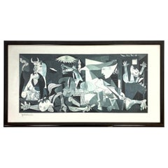 """Framed Pablo Picasso Print of """"Guernica"""""""