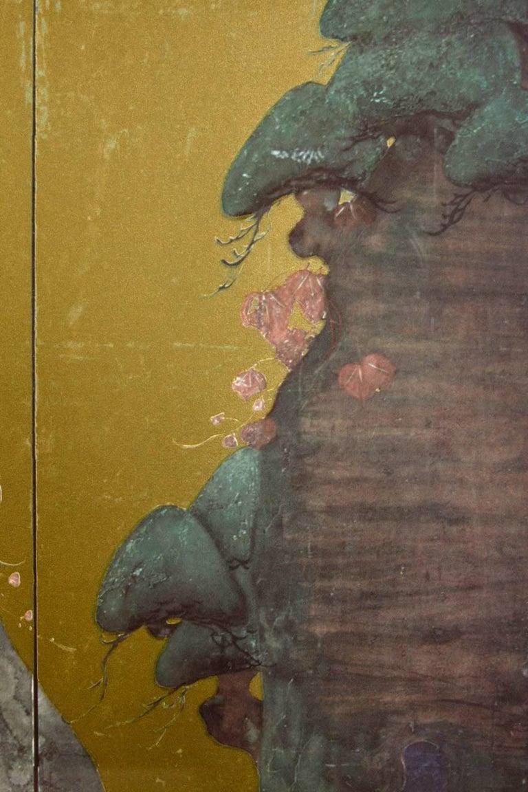 Framed Print of Asian Six-Panel Landscape Screen For Sale at 1stdibs