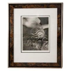 Framed Silver Print from Original Negative by Imogen Cunningham
