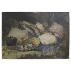 Framed Still-Life Painting