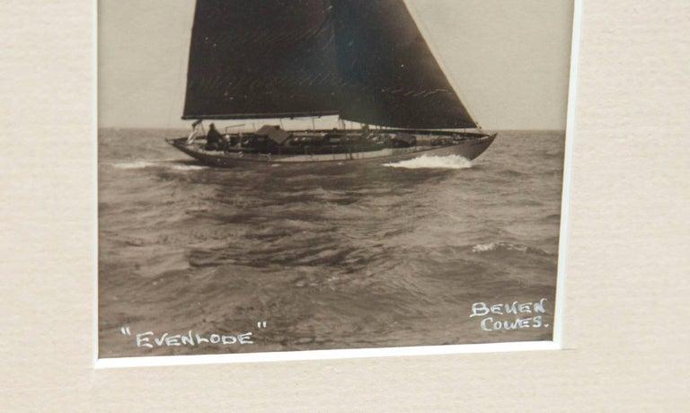 English Framed Vintage Photograph