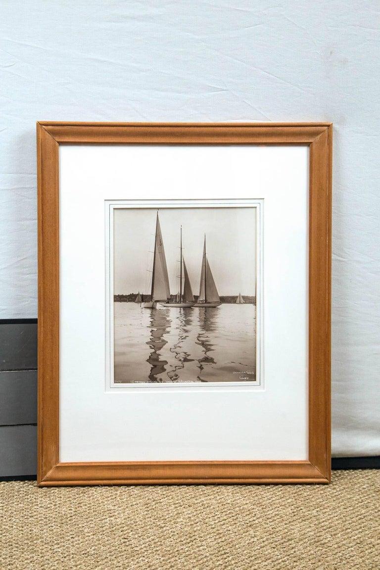Framed Vintage Maritime Photograph,
