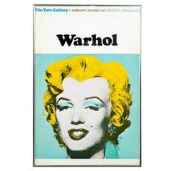 Framed Warhol Print of Marilyn Monroe
