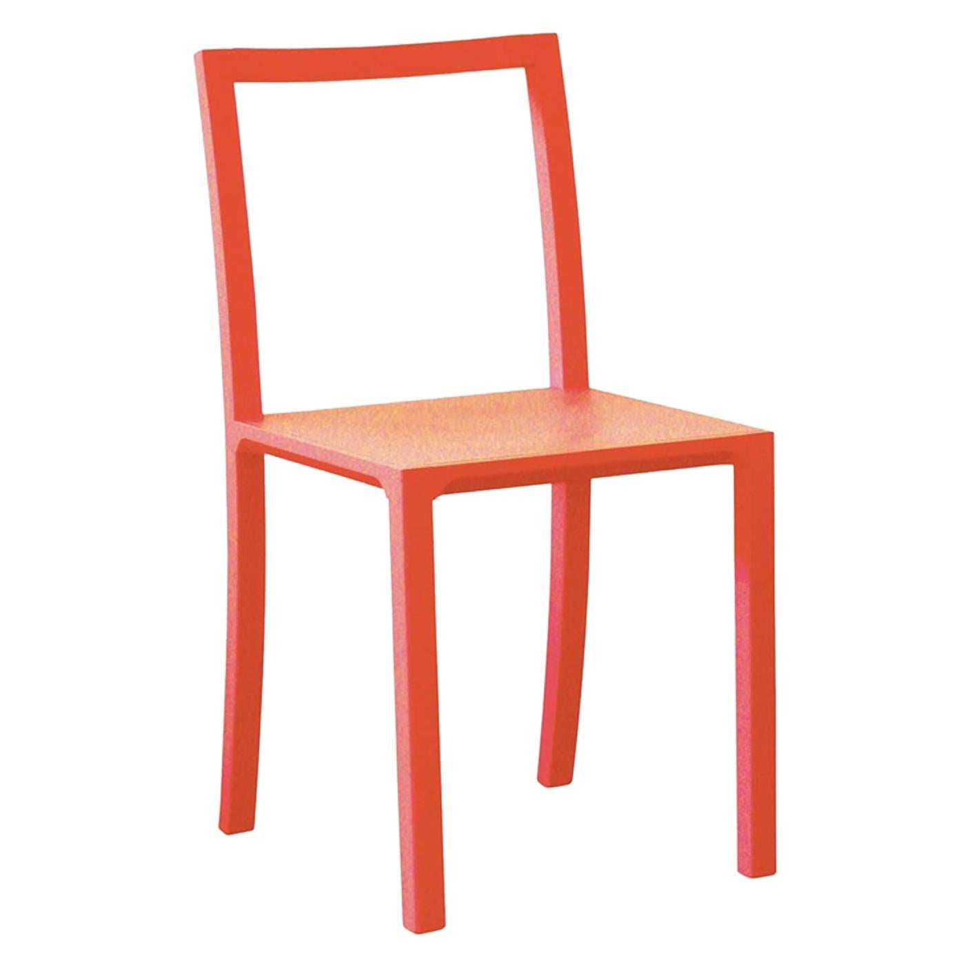 Framework Set of 2 Orange Chairs by Steffen Kehrle