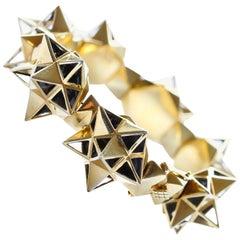 Framework Tetra Bracelet in Sterling Silver