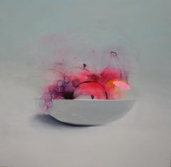Frutero , Oil and Paper on Canvas by Spanish Artist Fran Mora