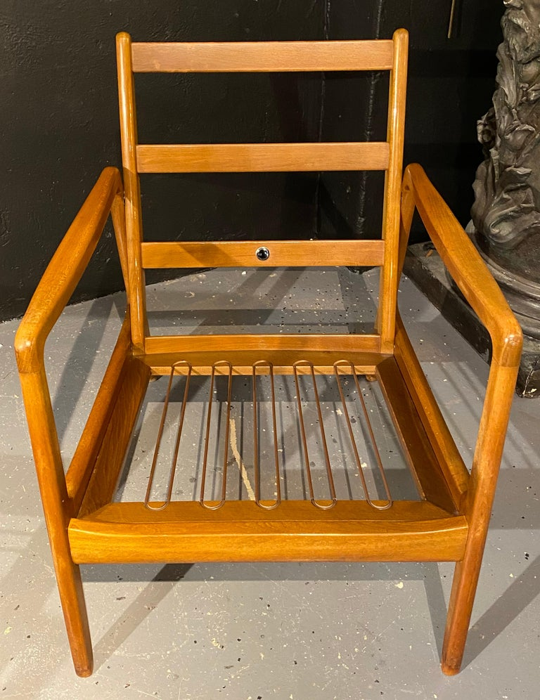 France and Daverkosen Teak Armchairs, Mid-Century Modern For Sale 9