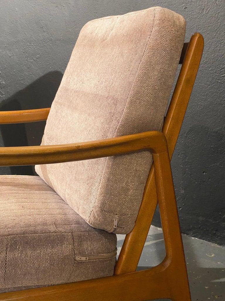France and Daverkosen Teak Armchairs, Mid-Century Modern For Sale 1