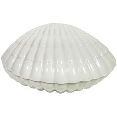 France Ceramic Clam Midcentury