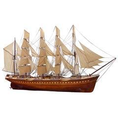 """France II"" Large Model Ship"