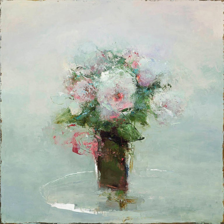 France Jodoin Abstract Painting - Harvest of Luxurious Time