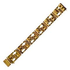 France Retro Gold Bracelet