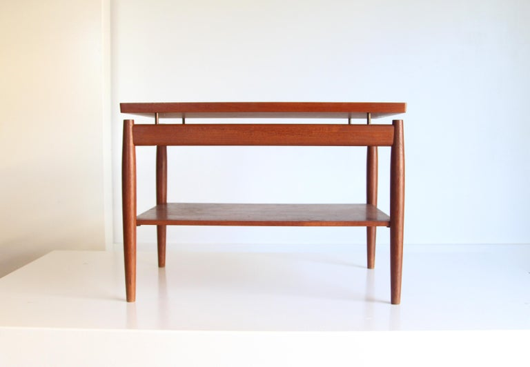 France & Son End Table by Greta Jalk For Sale 3