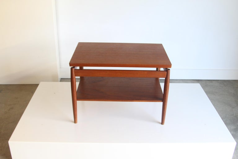 France & Son End Table by Greta Jalk For Sale 4