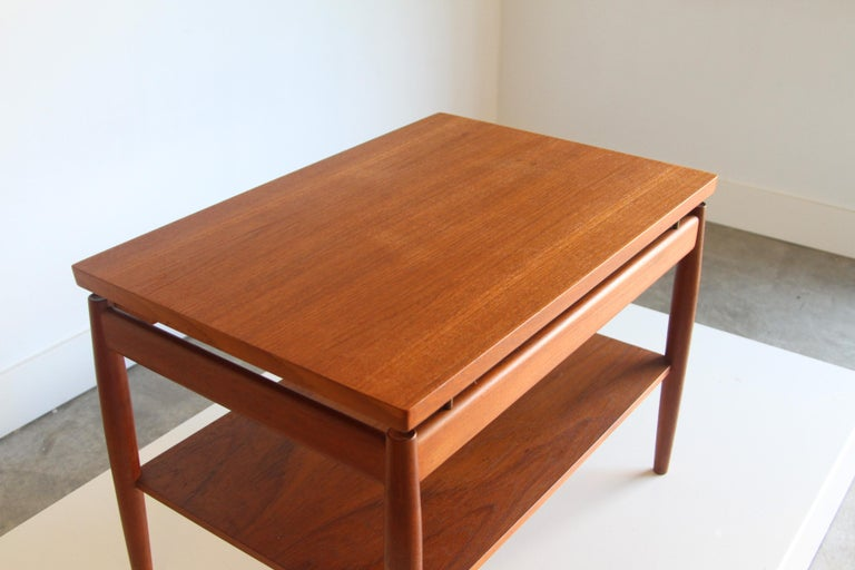 France & Son End Table by Greta Jalk For Sale 6