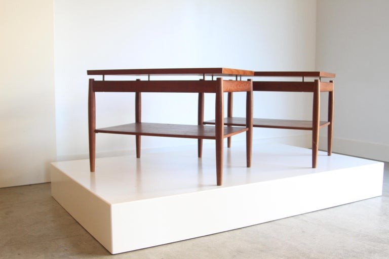 Mid-Century Modern France & Son End Table by Greta Jalk For Sale