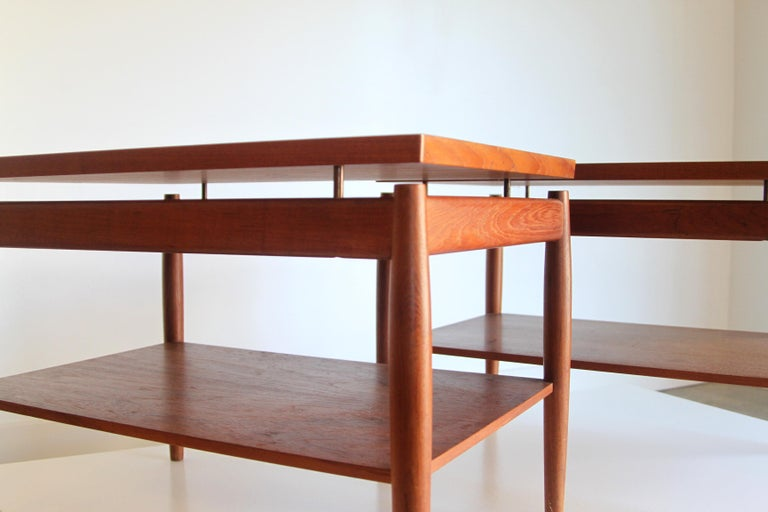 France & Son End Table by Greta Jalk In Good Condition For Sale In St. Louis, MO