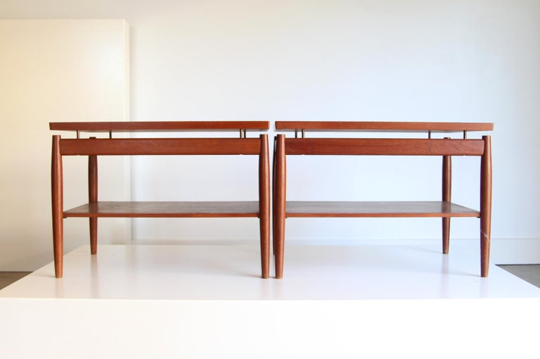 20th Century France & Son End Table by Greta Jalk For Sale