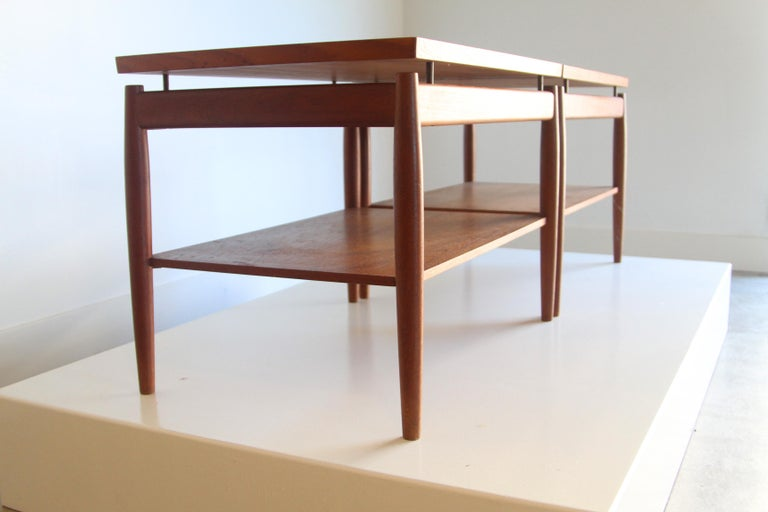 Wood France & Son End Table by Greta Jalk For Sale