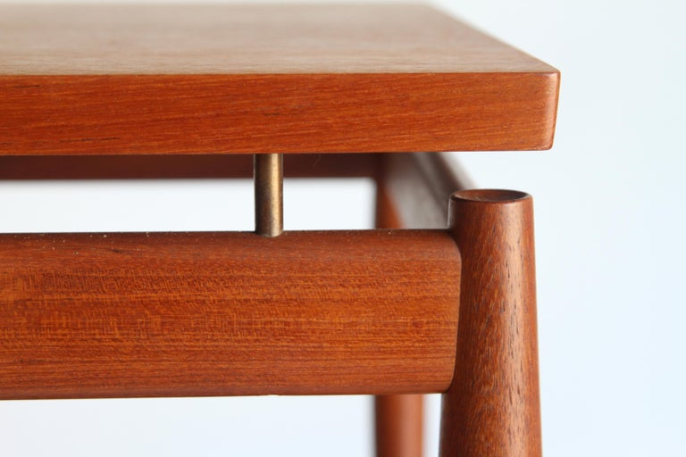France & Son End Table by Greta Jalk For Sale 2