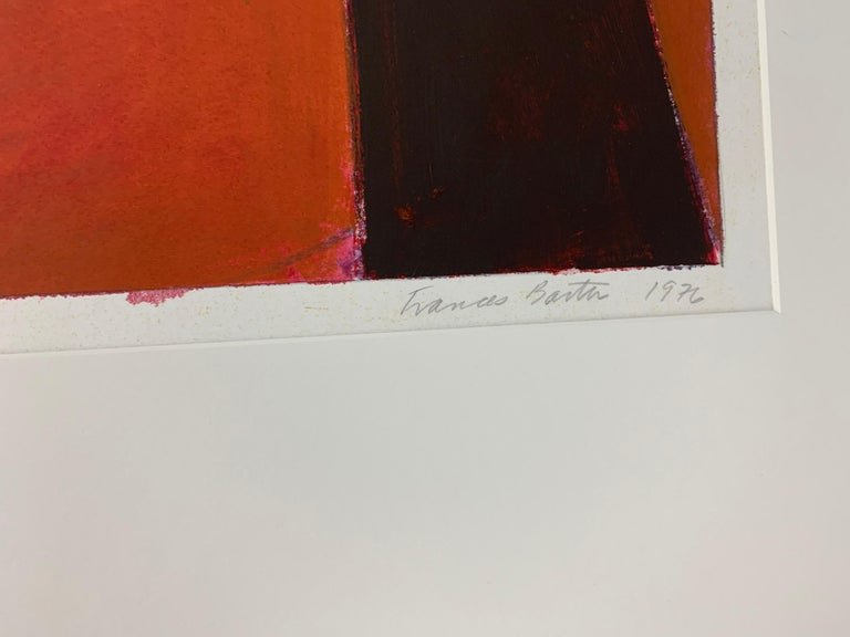 Artist: Frances Barth Title: Untitled Drawing #302,  Year: 1977 Mixed Media on Paper Dimensions: 29 × 40 in (73.7 × 101.6 cm) Provenance: Private collection; Susan Caldwell Gallery