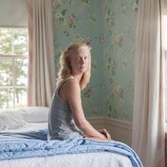 Hope, in the guest bedroom